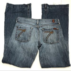 7 For All Mankind Dojo Flare Size 29
